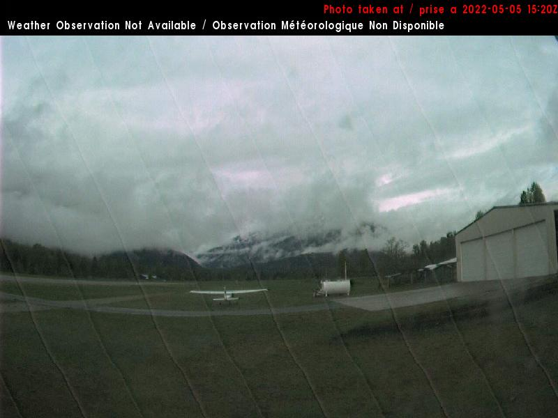 Pemberton Airport - East View