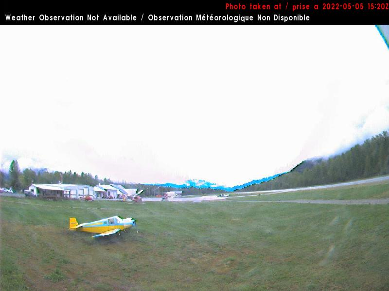 Pemberton Airport - West View