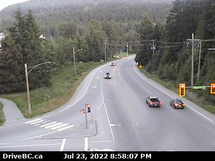 Whistler Village Gateway South Webcam