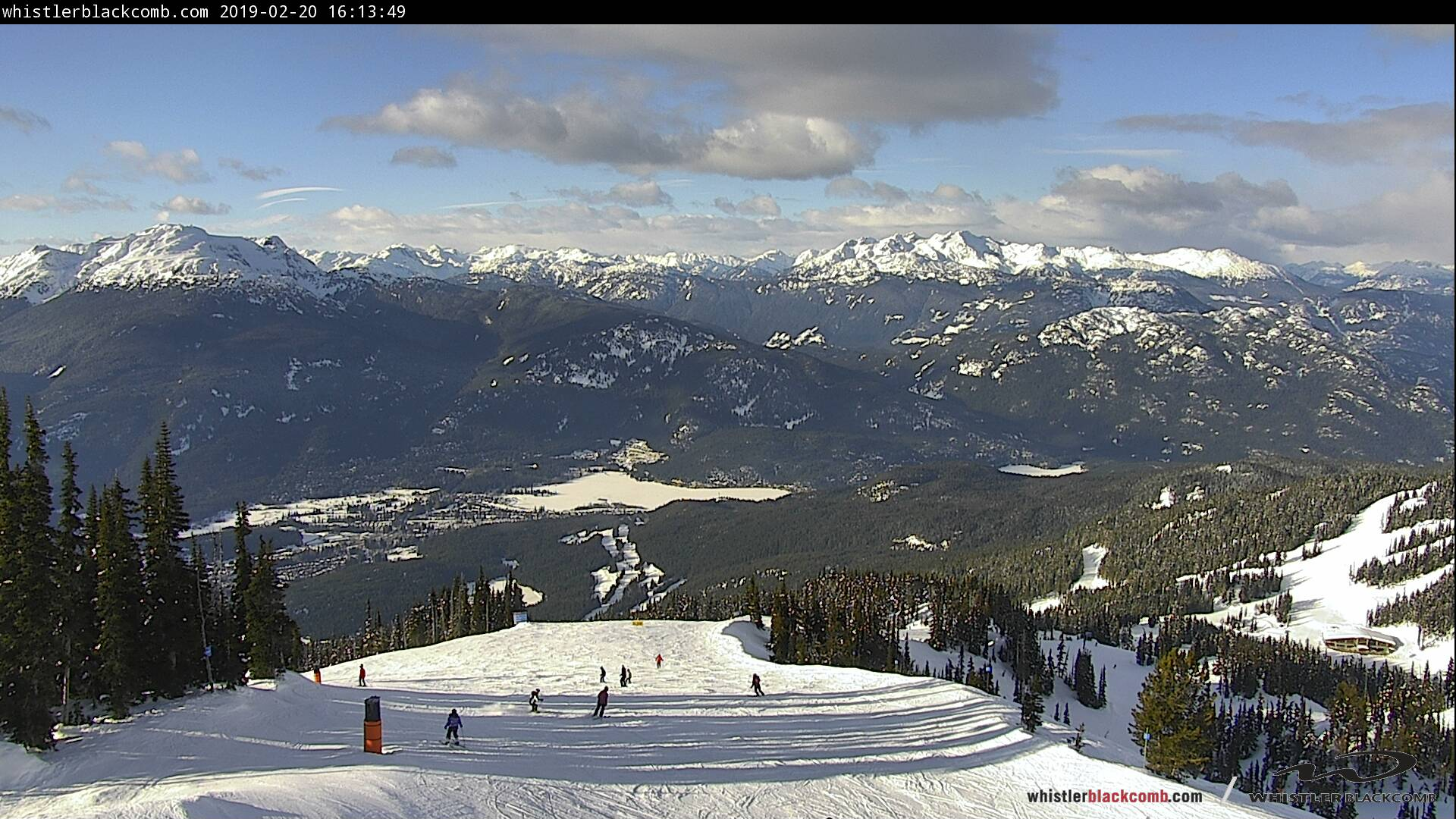 Blackcomb Mountain Wishbone Webcam