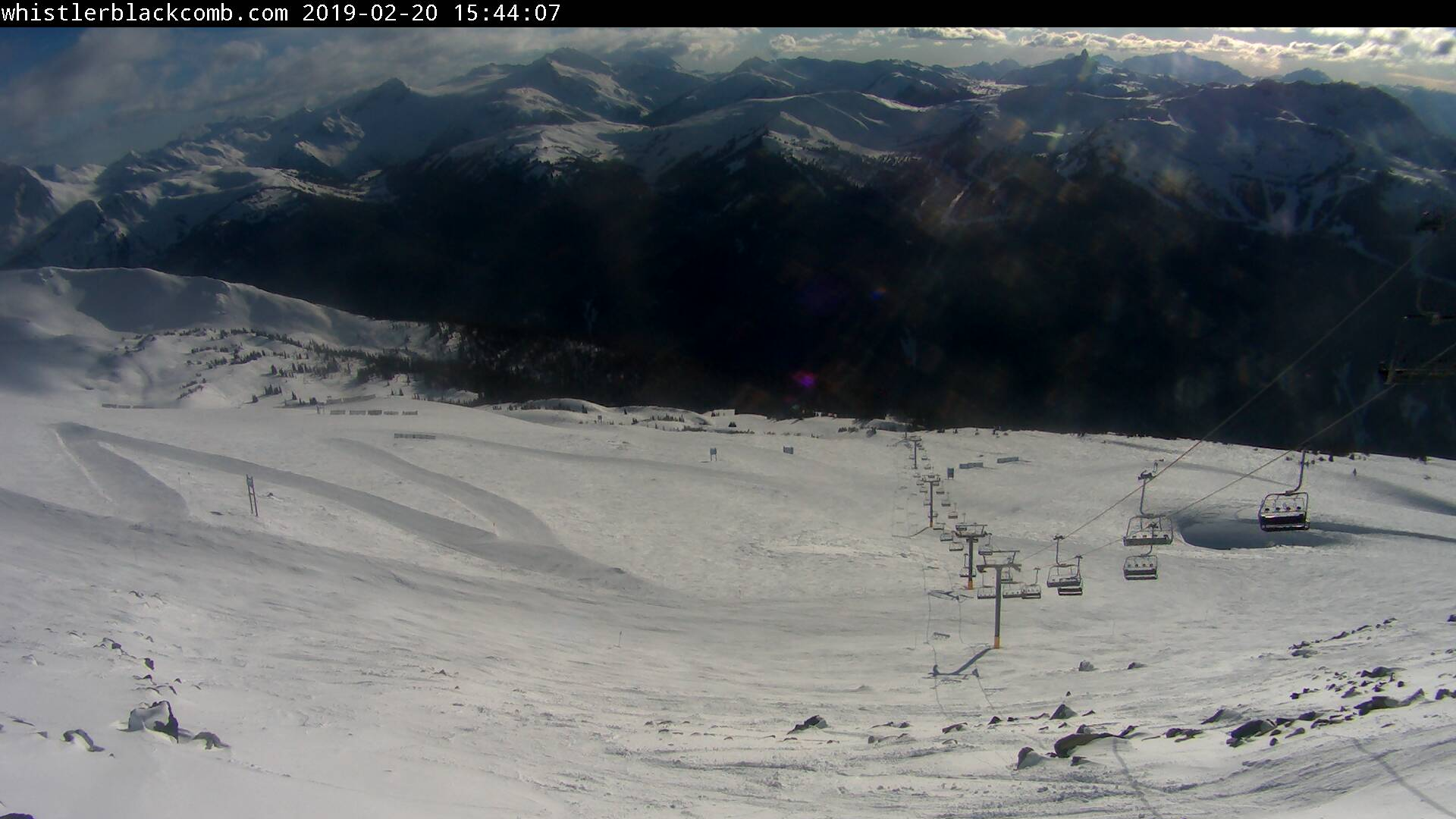 Blackcomb Mountain 7th Heaven Liftline Webcam