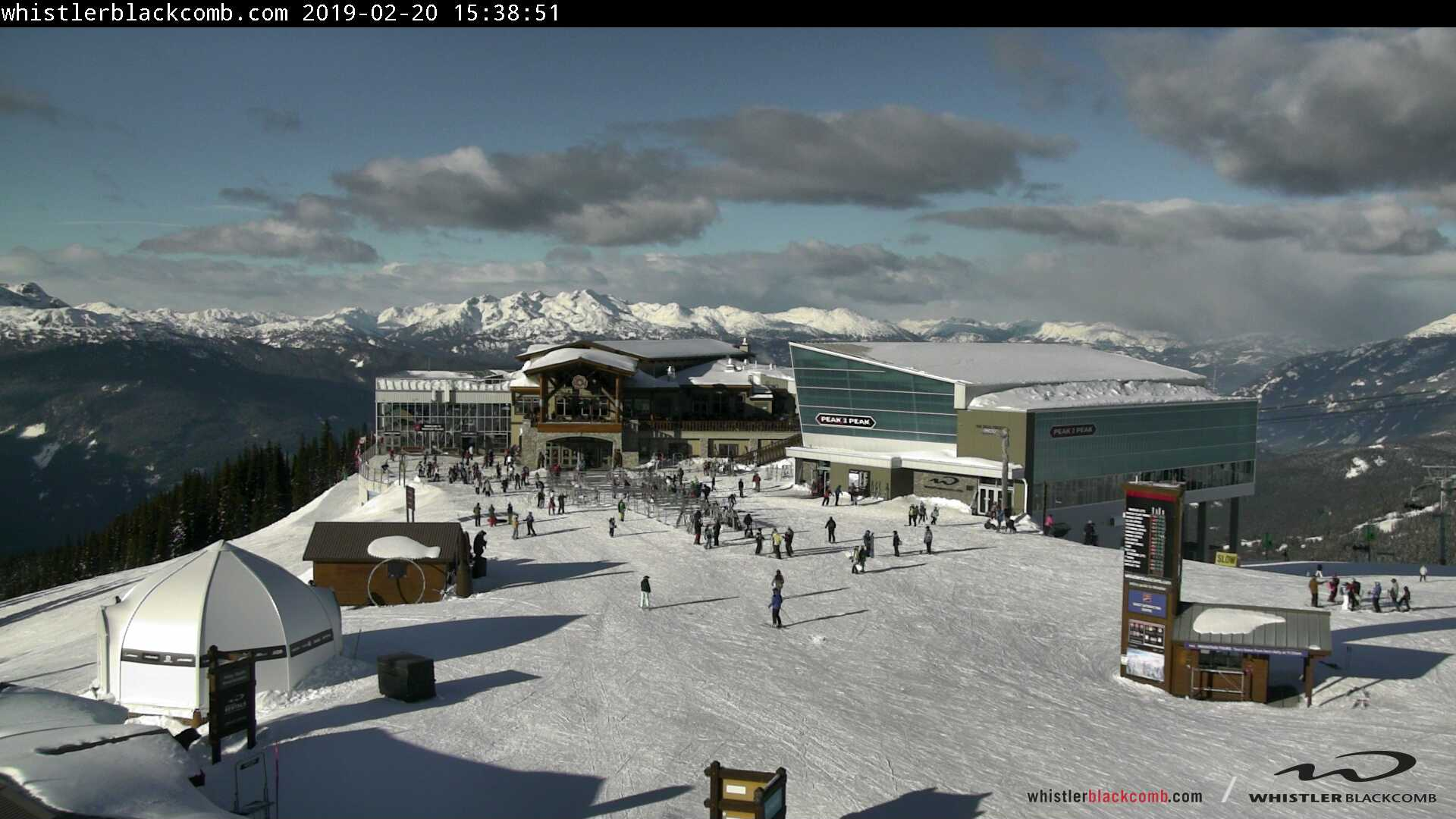Whistler Mountain Roundhouse Webcam 1